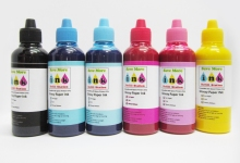 glossy paper ink